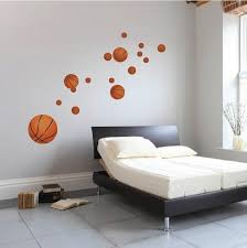 Basketball Wall Decal Sport College Basket Ball Kids Room Sports Vinyl American Wall Designs