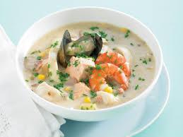 Seafood chowder (1)