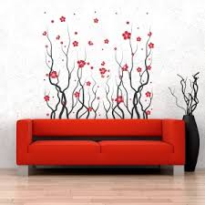 Plant Grass Wall Decals And Floral Wall Stickers Wallums