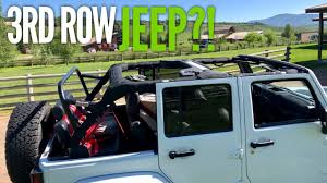 jeep wrangler 3rd row install mods