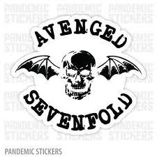 Avenged Sevenfold Vinyl Sticker Decal V125 Choose Color Rock Metal Trivium 4 99 Picclick