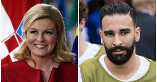 Adil Rami Had Embarrassing Moment With Croatian President At World Cup |  Balls.ie