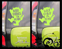 Wild Thing Decal Etsy