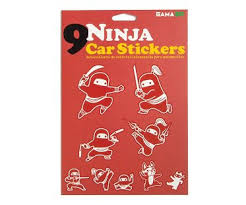 Ninja Family Car Decals
