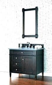 bathroom vanity with mirror cabinet