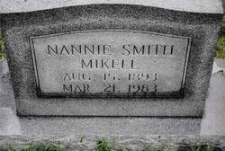 Nannie Smith Mikell (1893-1983) - Find A Grave Memorial