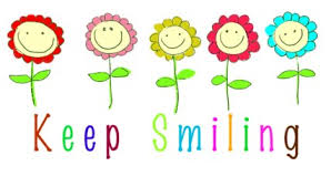 Keep Smiling Clipart