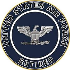 Amazon Com Magnet Us Air Force Retired Colonel Decal Sticker Military Veteran Served Car Bumper Sticker Magnetic Vinyl 3 8 Automotive