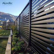 Garden Aluminum Balcony Privacy Fence Profile Aluminium Horizontal Slat Fencing View Outdoor Decorative Louver Fence Metal Privacy Fence Panels Aluno Product Details From Dongguan Aluno Industry Co Ltd On Alibaba Com