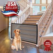 Retractable Pet Gate In Dog Fences Exercise Pens For Sale Ebay