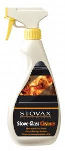 wood burning stove door glass