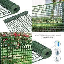 Snow Fencing Lightweight Safety Netting Recyclable Plastic Barrier Environmental Protection Dark Green Snow Fence Fence Recycling