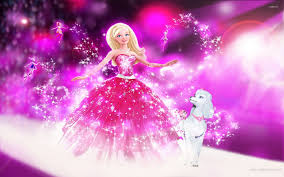barbie wallpaper digital art