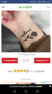 Ile Moze Kosztowac Rozyczka Na Nadgarstku Tatuaze Forum