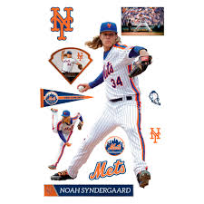 Noah Syndergaard Cooperstown Jersey Life Size Officially Licensed Mlb Removable Wall Decal Removable Wall Decals Removable Wall Cooperstown