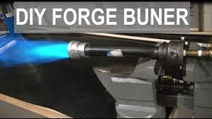 super simple propane forge burner