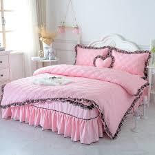 elegant girls pink and black victorian