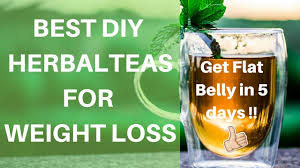 lose weight fast with herbal tea diy