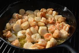 Butter Grilled Scallops & Shrimp ...