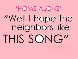 home alone quote clipart