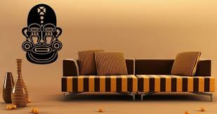 African Mask Wall Decals Dezign With A Z