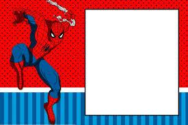 Fiesta De Spiderman Invitaciones Para Imprimir Gratis Oh My