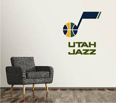 Utah Jazz Nba Bedroom Poster Wall Decal Art Sticker Decor Car Vinyl Sa35 Decor Decals Stickers Vinyl Art Stickers Home Garden Stickers