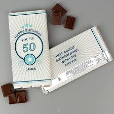 milk chocolate bar personalised gifts