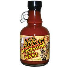 kickin moonshine pepper mash hot