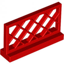 Brick Shop Lego 318521 Fence Red Part Brick Shop Pick A Brick