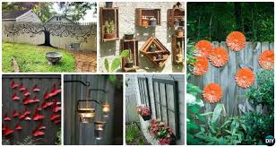 Garden Fence Decoration Ideas Archives Diy How To