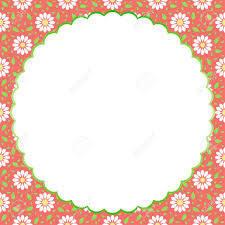 Fondo De La Vendimia Patron Floral Para Invitaciones Cumpleanos