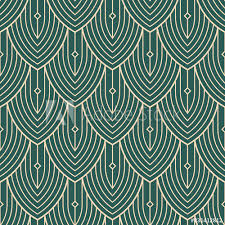art deco simple pattern geometric 4