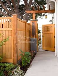 Wood Garden Gate Linda This Fence Looks Similar To Yours I Love The Gate Garden In The Woods Backyard Fences Backyard Patio