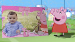 Invitacion Virtual De Cumpleanos Peppa Pig Youtube