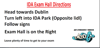 If you have exams in the IDA Hall check... - AIT Students' Union ...