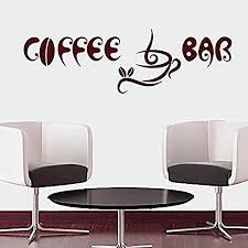 com letters wall decor stickers wall decals quotes coffee