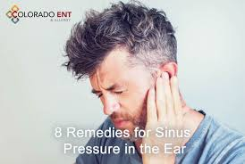 remes for sinus pressure in the ears