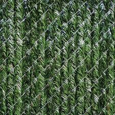 Yardgard 6 Ft H X 5 Ft W Green Vinyl Privacy Hedge Slat Fence Panel 330372gr The Home Depot