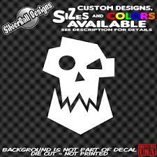 Ork Custom Vinyl Decal Sticker Car Truck Window Warhammer 40k D D Ebay
