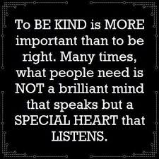 """inspirational quote of the day unknown author """"to be kind is"""