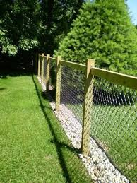 Invisaflow 38 En Canal Guardia 7400 The Home Depot In 2020 Dog Yard Fence Backyard Fences Backyard Privacy