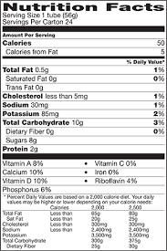 jolly rancher nutrition label best