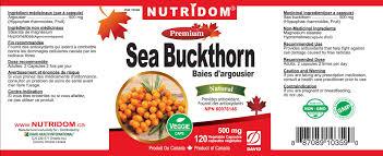 nutridom sea buckthorn 120 capsules