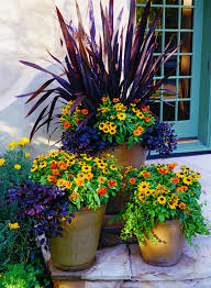 patio or balcony using colorful