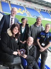 Company raises money for Warrington Wolves Foundation | Warrington Guardian