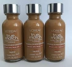 3x l oreal true match makeup liquid
