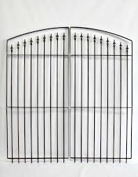 Wrought Iron Fence Gate Entry Gates 6 Tall X 6 Wide