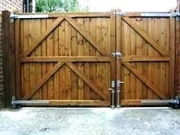 Wooden Driveway Gate Designs Gates Ideas Driveway Fence Ideas Driveway Gates Ideas Driveway Fence Gate Id Backyard Gates Wood Fence Gates Wooden Gates Driveway