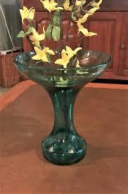 blenko glass company art glass vase